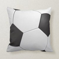 Football Soccer Pillow | Zazzle