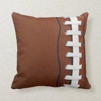 Football Throw Pillow | Zazzle