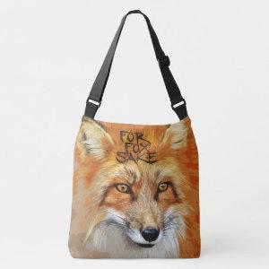 For Fox Sake Design Tote Bag