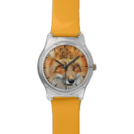 For Fox Sake Design Wristwatches