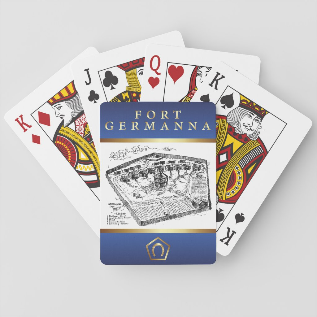 Fort Germanna Playing Cards