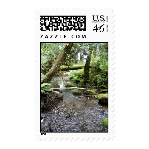 Fox Creek, Rainier, Oregon stamp
