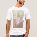 Fox Kit Watercolor shirt