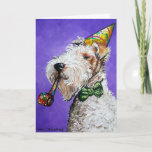 ❤️ Fox Terrier Birthday Card
