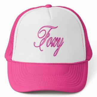 Foxy Pink Airbrush Mesh Hats