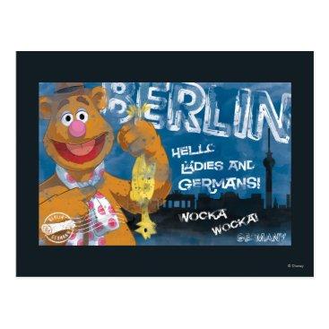 Fozzie Bear - Berlin, Germany Poster Postcard