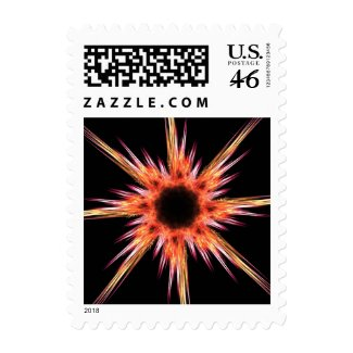 Fractal star stamps