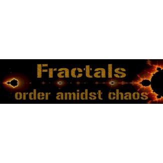 Fractals: Order Amidst Chaos bumpersticker