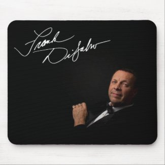 Frank DiSalvo - Black Signature Mousepad