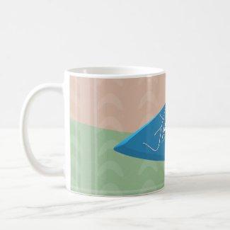 Frank DiSalvo - Logo with BG Mug