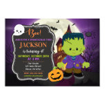 Frankenstein Halloween Birthday Invitation