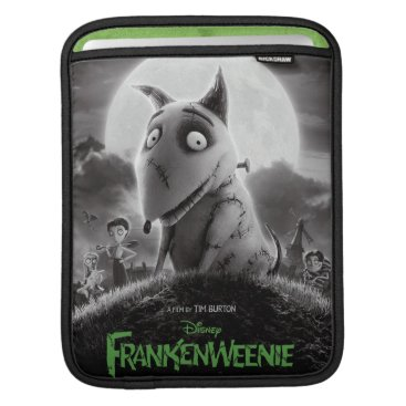 Frankenweenie Movie Poster iPad Sleeve