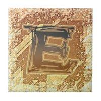 Letter Ceramic Tiles | Zazzle