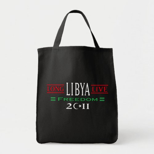Free Libya Bag Long Live Libya Freedom 2011 bag