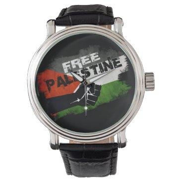 Free Palestine Wrist Watch
