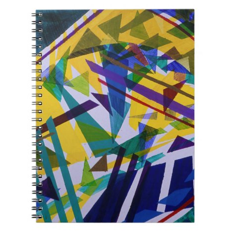 Freedom – Abstract Journey of Liberty Notebook