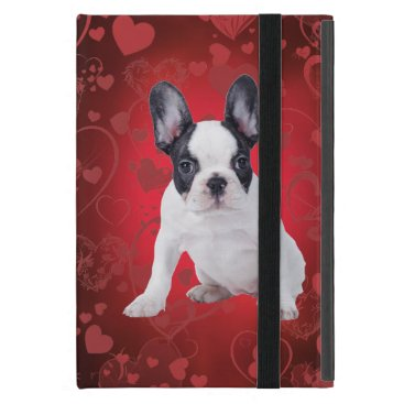 Frenchie love puppy case for iPad mini