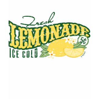 Fresh Lemonade Sign Tees shirt