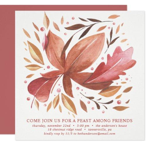 FRIENDSGIVING DINNER INVITE | JOYFUL FOLIAGE