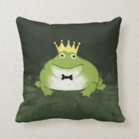 Funny Frog Pillows - Decorative & Throw Pillows | Zazzle