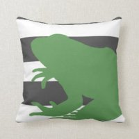 Frog Pillows - Decorative & Throw Pillows | Zazzle
