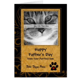 from the Cat Father's Day Photo Card