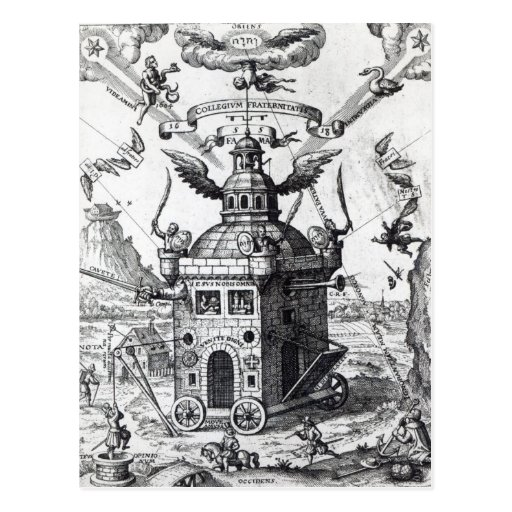 Domus Sancti Spiritus. The House of the Holy Spirit (Rosicrucian).