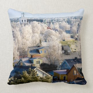 Frosty Rauma Pillows