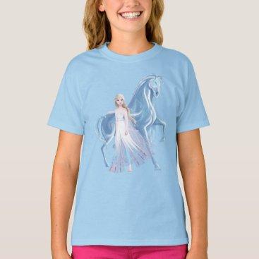 Frozen 2   Elsa & the Frosted Nokk T-Shirt