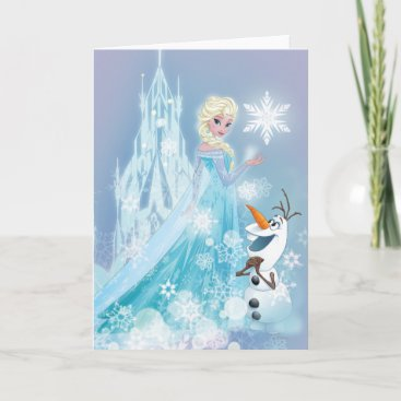 Frozen | Elsa and Olaf - Icy Glow Card