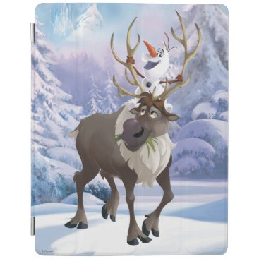 Frozen | Olaf sitting on Sven iPad Smart Cover