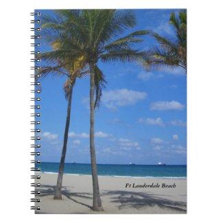 Ft Lauderdale Florida Beach Notebook Journal