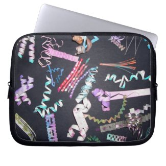 Fun Spirals - SquirlyQs iPad Laptop Sleeve Cases fuji_electronicsbag