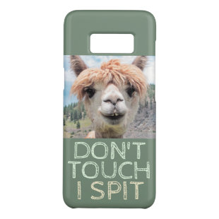 Funny Alpaca Llama Don't Touch I Spit Case-Mate Samsung Galaxy S8 Case