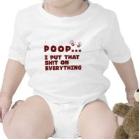 funny baby clothes sayings - baby poop joke shirt | Zazzle