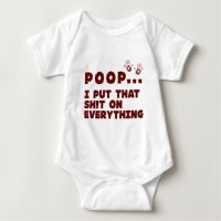 funny baby clothes sayings - baby poop joke shirt | Zazzle.com