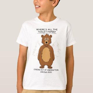Funny Bear Cartoon T-Shirt
