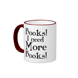 Funny Book Addict Mug