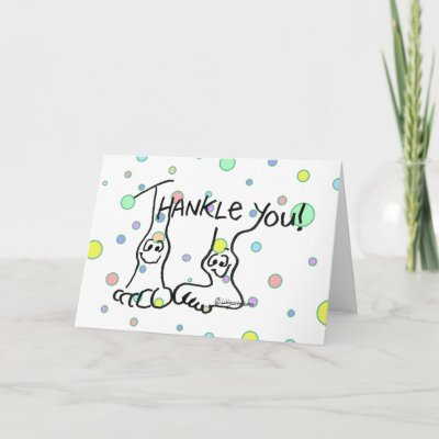 Funny Thank You Card TURRBOTAX® TURBOTAX Julio Bashmore