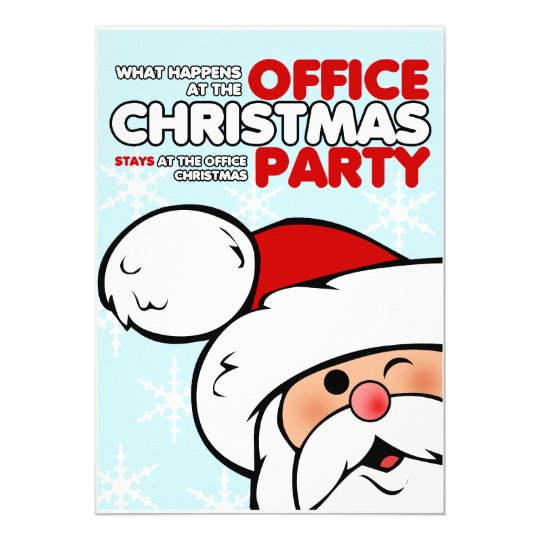 funny christmas office party