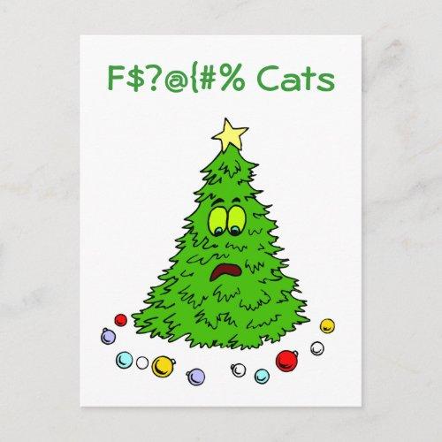 Funny Christmas Tree Jokes Cats Holiday Xmas