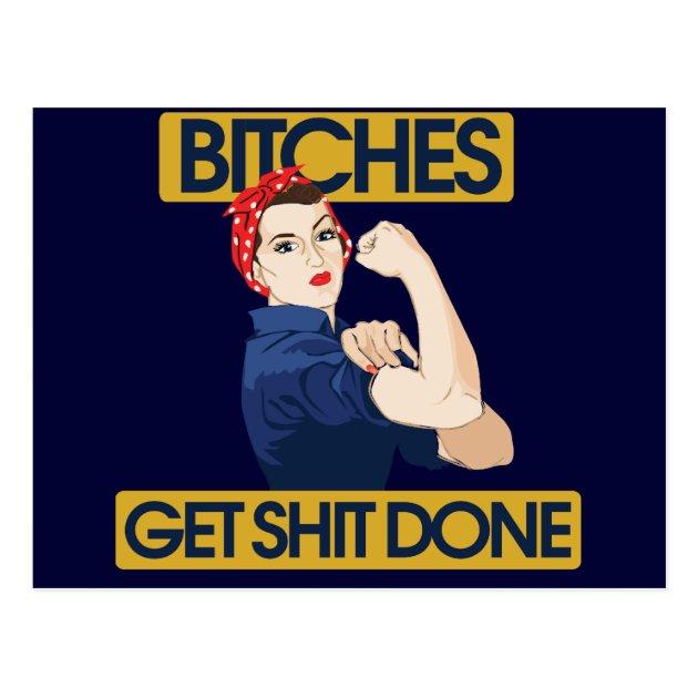 Funny Feminist Humor Postcard Zazzle