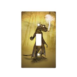 funny gecko light switch