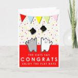 ❤️ Funny Graduation Congrats Card