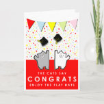 ❤️ Funny Graduation Congrats Card