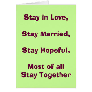 Funny Love Wedding Card