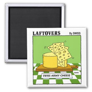 Funny Magnets For Cheese Lovers magnet