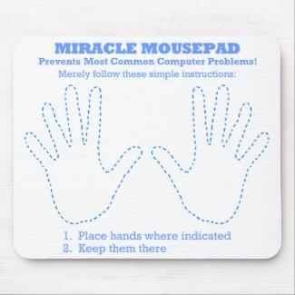 Funny Miracle Computer Mousepad mousepad