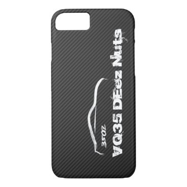 Funny Nissan 350z VQ35 DEez Nuts iPhone 8/7 Case