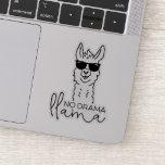 ❤️ Funny No Drama Cool Llama  Sticker